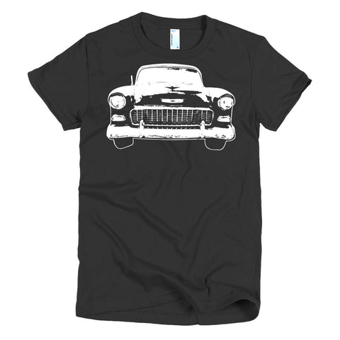 1955 Chevy Bel Air - Modern Rodder - Women's T-Shirt