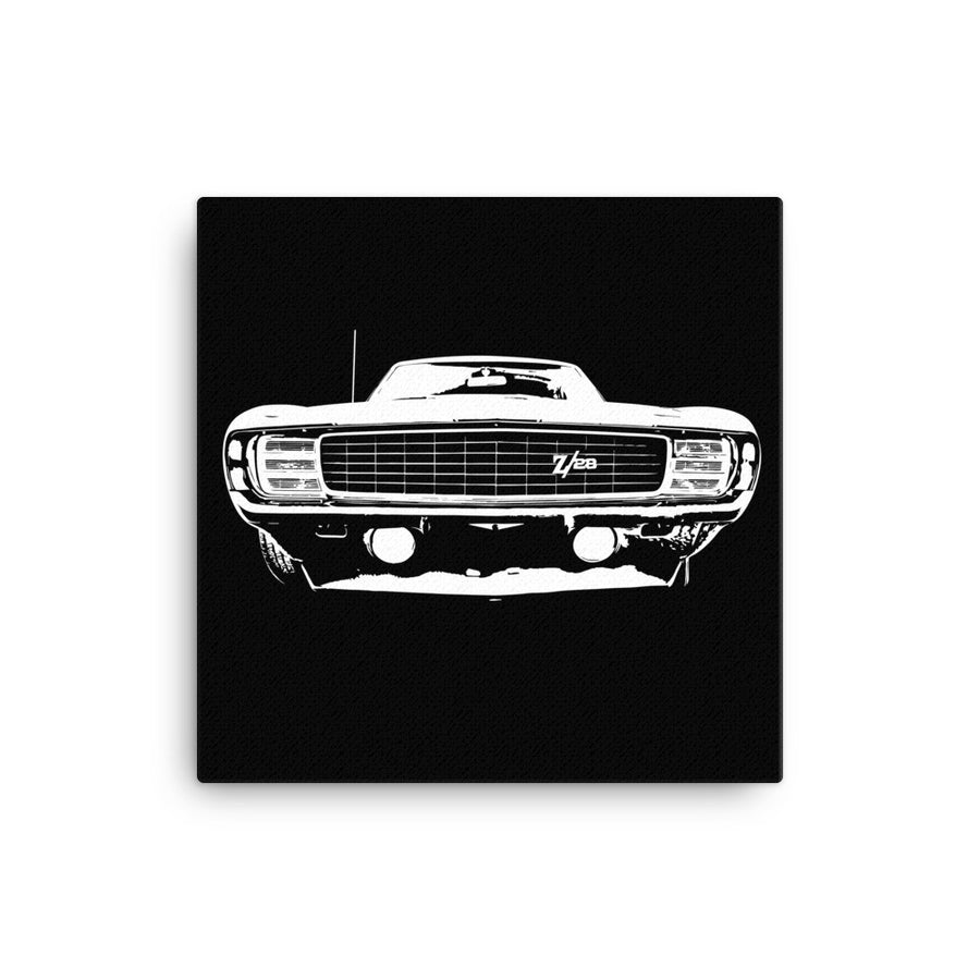 1969 Camaro RS/SS - Modern Rodder - Canvas Print