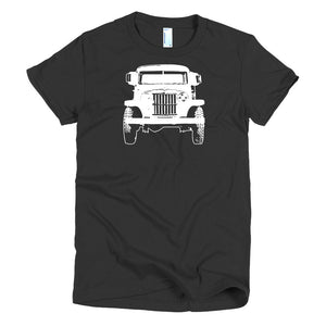 1962 Jeep Willys - Modern Rodder - Women's T-Shirt