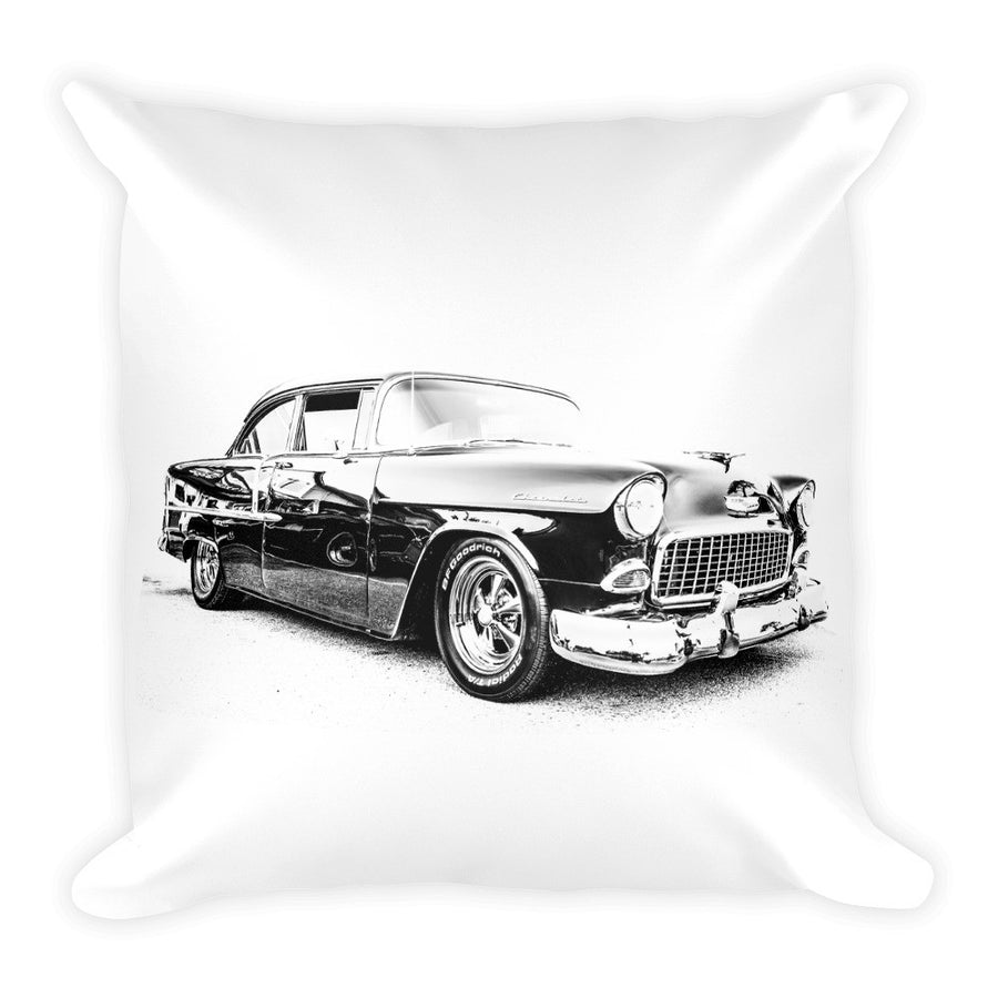 1955 Chevy Bel Air - Will Glover Featured Artist - Soft Pillow