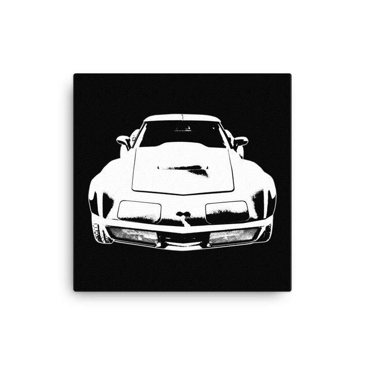 1969 Corvette - Modern Rodder - Canvas Print