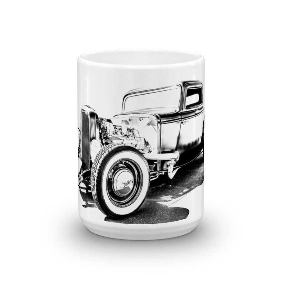 1932 Ford Three Window - Will Glover Featured Artist - Mug made in the USA