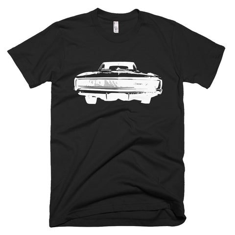 1968 Charger - Front and Back - Modern Rodder - Men's T-Shirt
