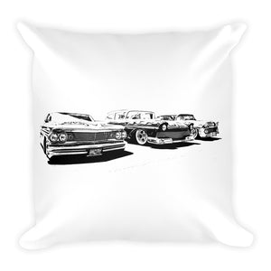 Low Riders - Will Glover Featured Artist - Soft Pillow