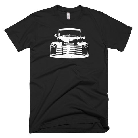 1952 Chevy 3100 Pickup Truck - Modern Rodder - Men's T-Shirt