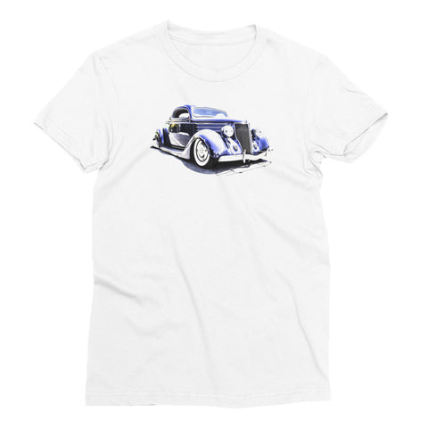 1936 Street Rod - Will Glover Featured Artist - Women's Short Sleeve T-Shirt
