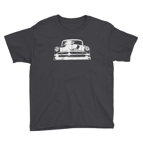 1954 Chevy BelAir - Modern Rodder - Youth Short Sleeve T-Shirt