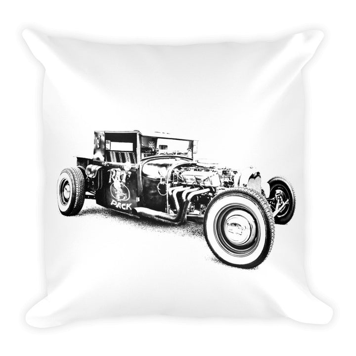 Rat Rod Truck - Will Glover Featured Artist - Soft Pillow