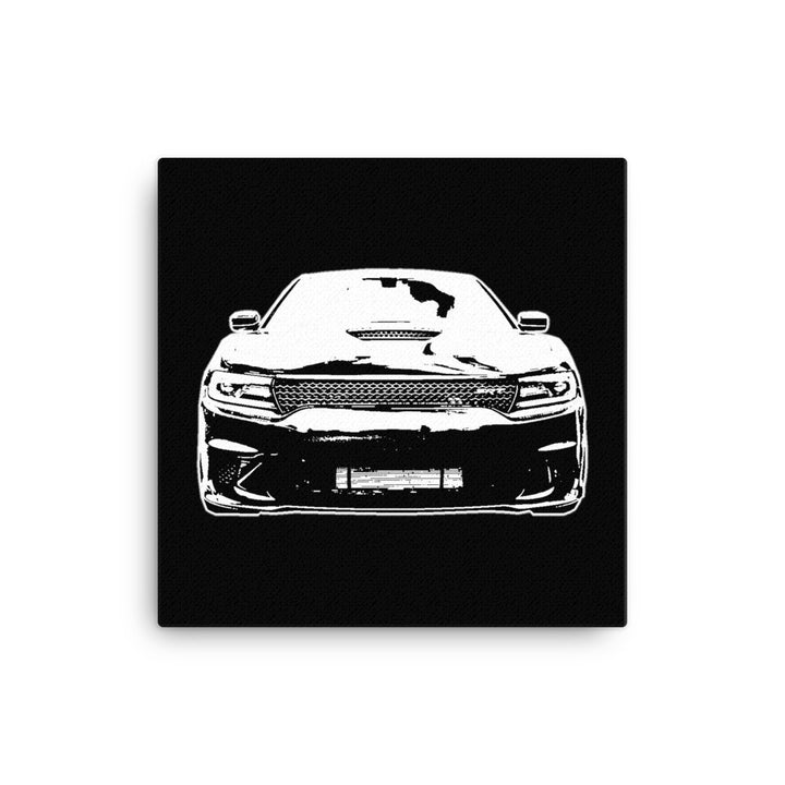 2017 Dodge Charger SRT Hellcat - Modern Rodder - Canvas Print