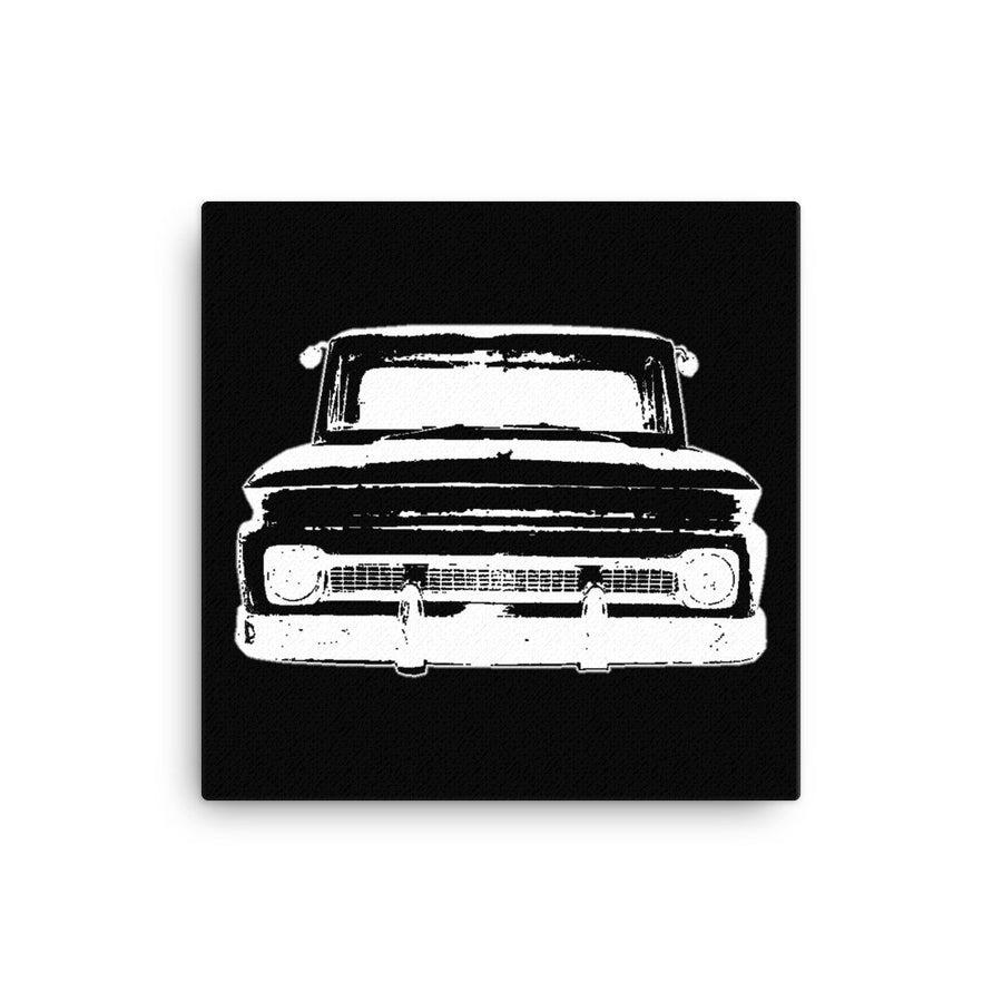 1965 Chevy C10 Big Window Pickup - Modern Rodder - Canvas Print