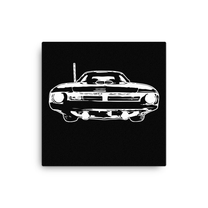 1970 Barracuda - Cuda - Modern Rodder - Canvas Print