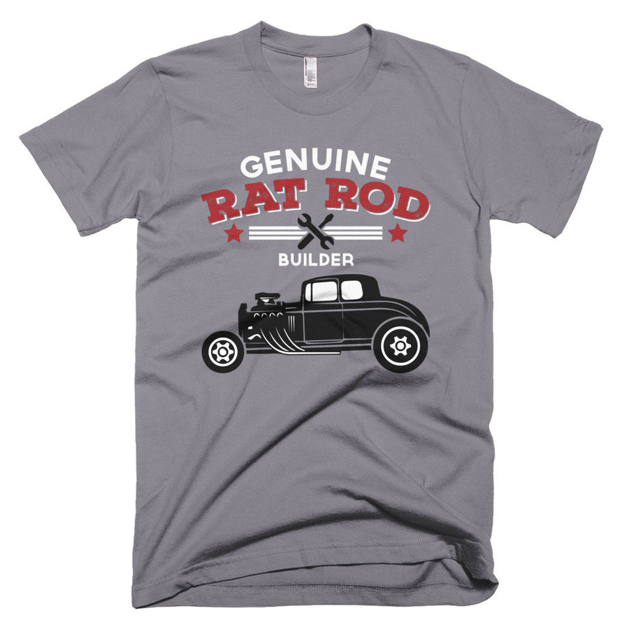 Genuine Rat Rod Builder - Modern Rodder - Short Sleeve Men's T-Shirt