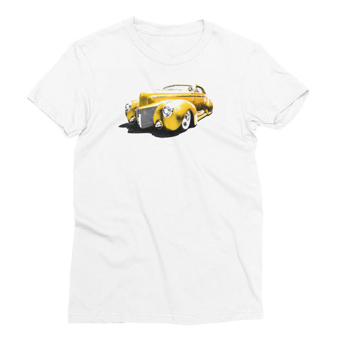 1940 Ford Street Rod - Will Glover Featured Artist - Women's Short Sleeve T-Shirt