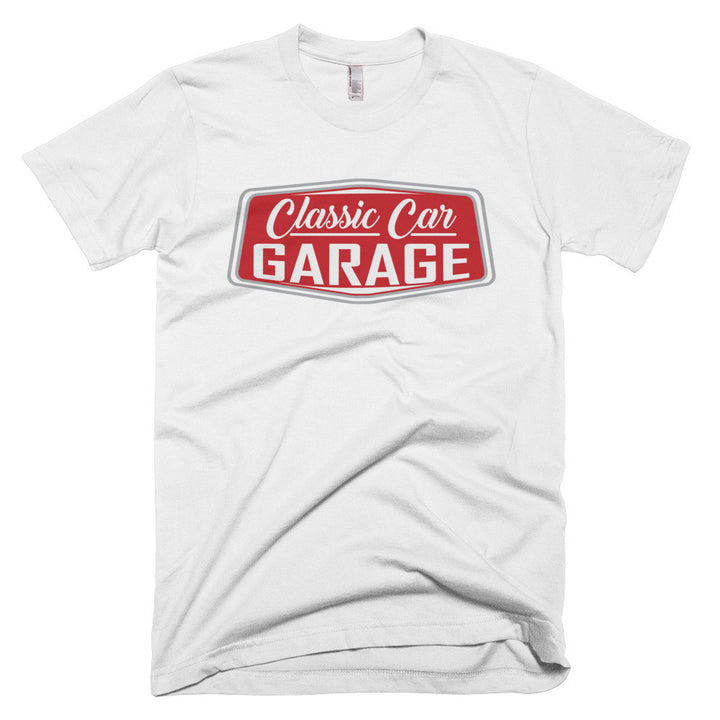 Classic Car Garage - Modern Rodder - Men's T-Shirt