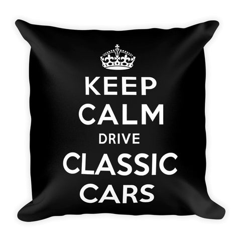 Keep Calm Drive Classic Cars - Modern Rodder - Soft Pillow