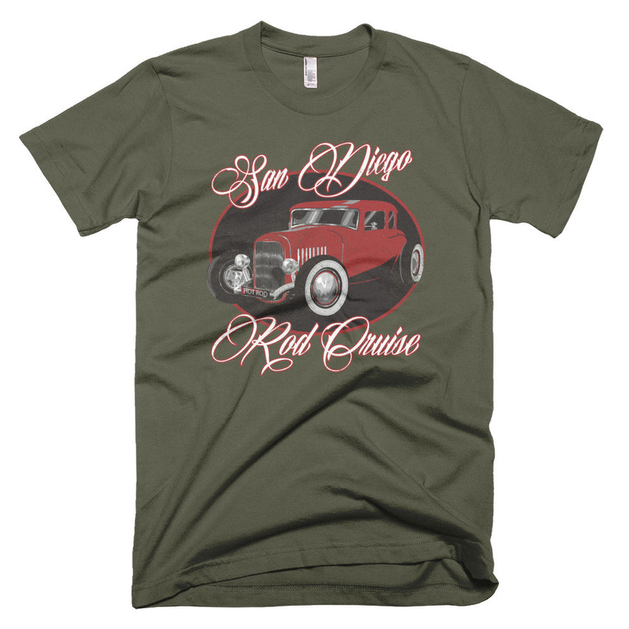 San Diego Rod Cruise - Modern Rodder - Men's T-Shirt