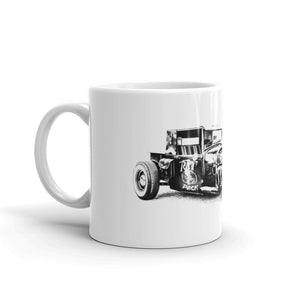 Ford Rat Rod - Will Glover Featured Artist - Mug made in the USA
