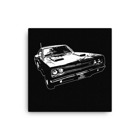 1969 Dodge Super Bee - Modern Rodder - Canvas Print