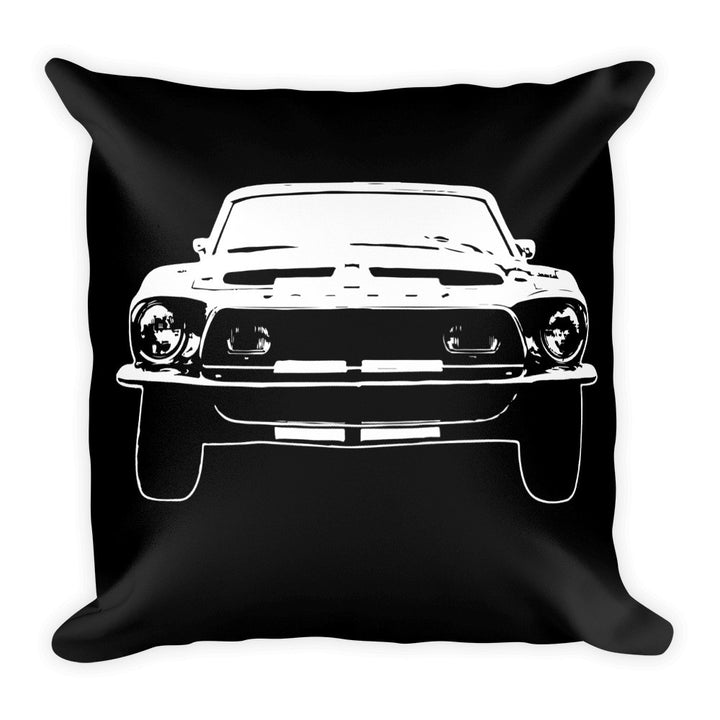 1967 Shelby Mustang GT500 - Modern Rodder - Soft Pillow