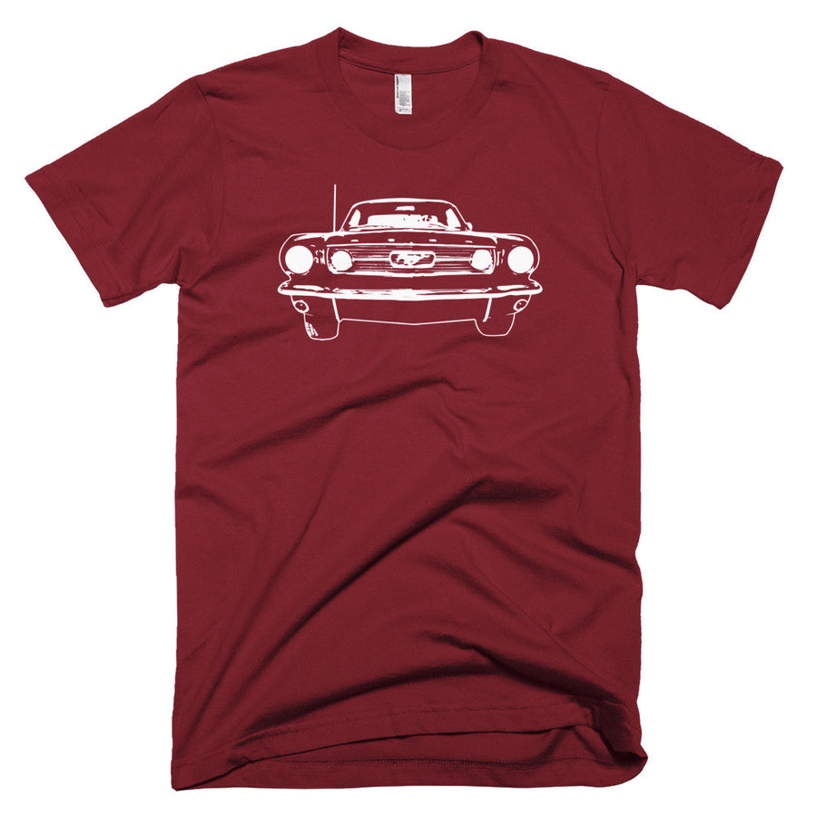 1966 Ford Mustang - Modern Rodder - Men's T-Shirt