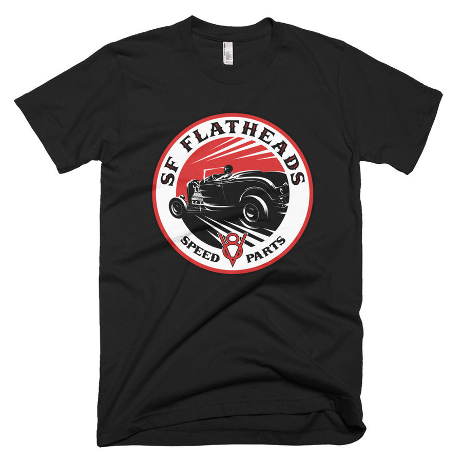 SF Flatheads Speed Parts - Modern Rodder - Men's T-Shirt