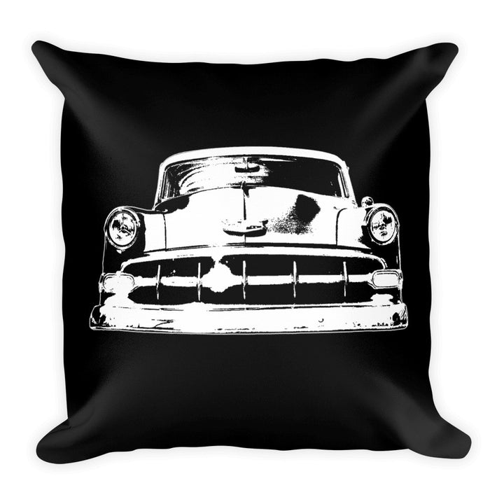 1954 Chevy BelAir - Modern Rodder - Soft Square Pillow