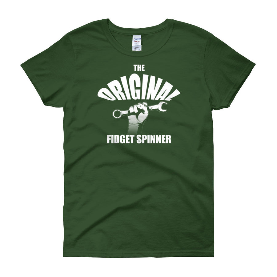 The Original Fidget Spinner - Modern Rodder - Women's T-Shirt