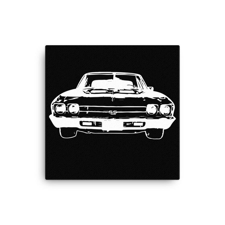 Chevelle SS - Modern Rodder - Canvas Print