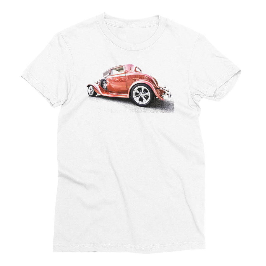 1932 Ford Three Window Coupe - Will Glover Featured Artist - Women's Short Sleeve T-Shirt
