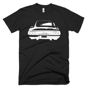 1968 Charger Rear End - Modern Rodder - Men's T-Shirt