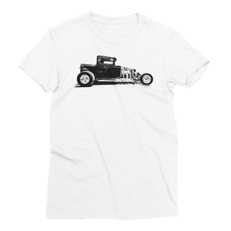 Ford Pickup Hot Rod - Will Glover Featured Artist - Women's Short Sleeve T-Shirt