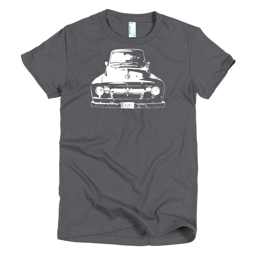 1954 Ford F100 - Modern Rodder - Women's T-Shirt