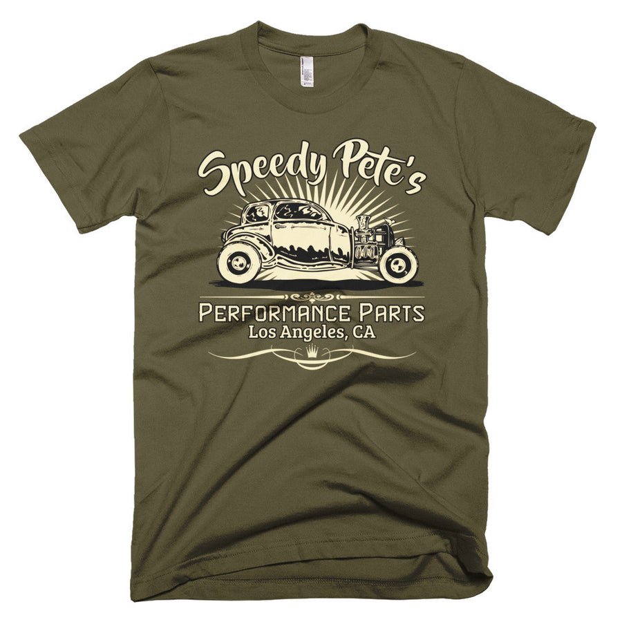 Speedy Pete's Performance Parts - Modern Rodder - Men's T-Shirt