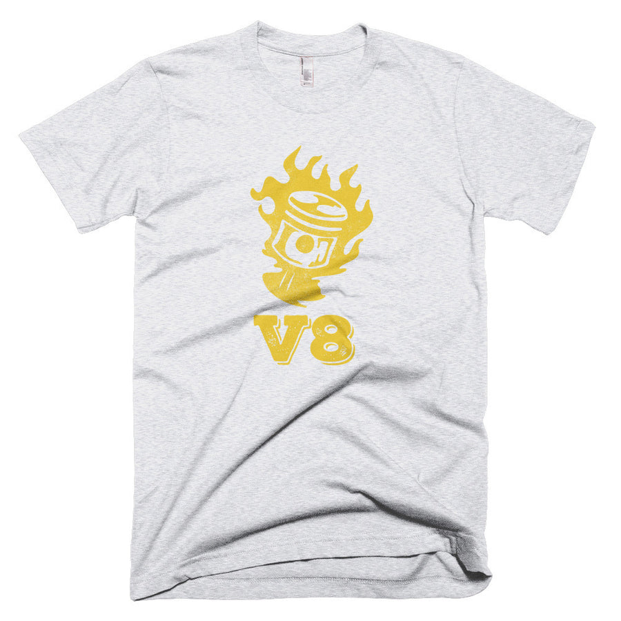 V8 Piston - Modern Rodder - Men's T-Shirt