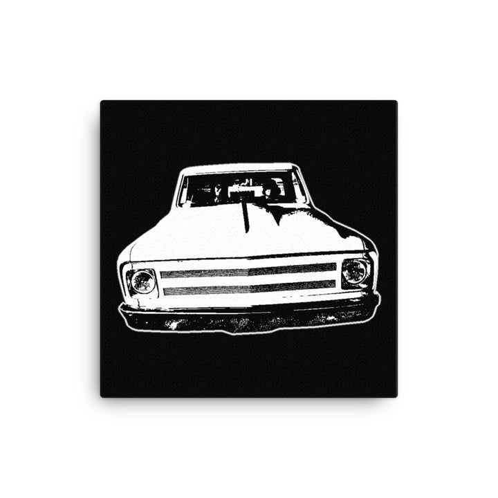 1969 Chevrolet C10 Pickup - Modern Rodder - Canvas Print