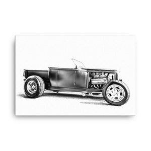 1932 Ford Pickup Hot Rod - Will Glover Featured Artist - Canvas Print