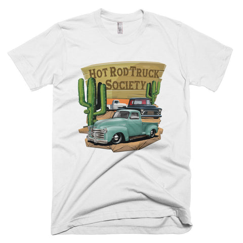 Hot Rod Truck Society - Modern Rodder - Men's T-Shirt
