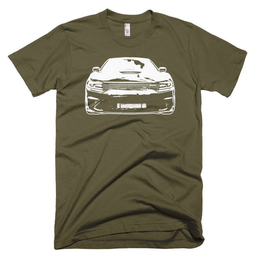 2017 Dodge Charger SRT Hellcat - Modern Rodder - Men's T-Shirt