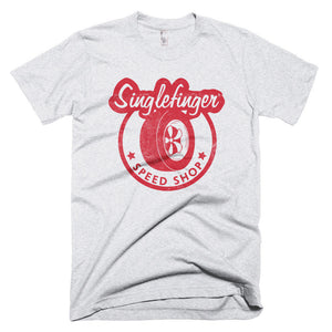 Single Finder Speed Shop - Men's T-Shirt