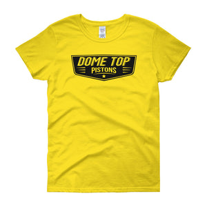 Dome Top Pistons - Modern Rodder - Women's T-Shirt