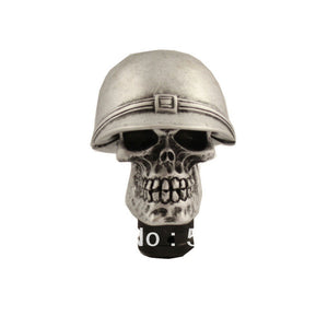 Silver Skull Universal Manual Gear Stick Shift Shifter Lever Knob