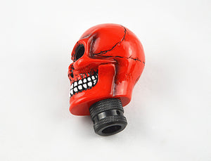 Wicked Carved Skull Red - Manual Gear Shift Lever Knob Shifter Stick