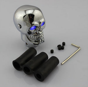 Blue LED Skull - Universal Car Truck Manual Shift Knob