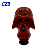 Carved Darth Red Knight - Universal Manual Shift Lever Knob - Vader Inspired