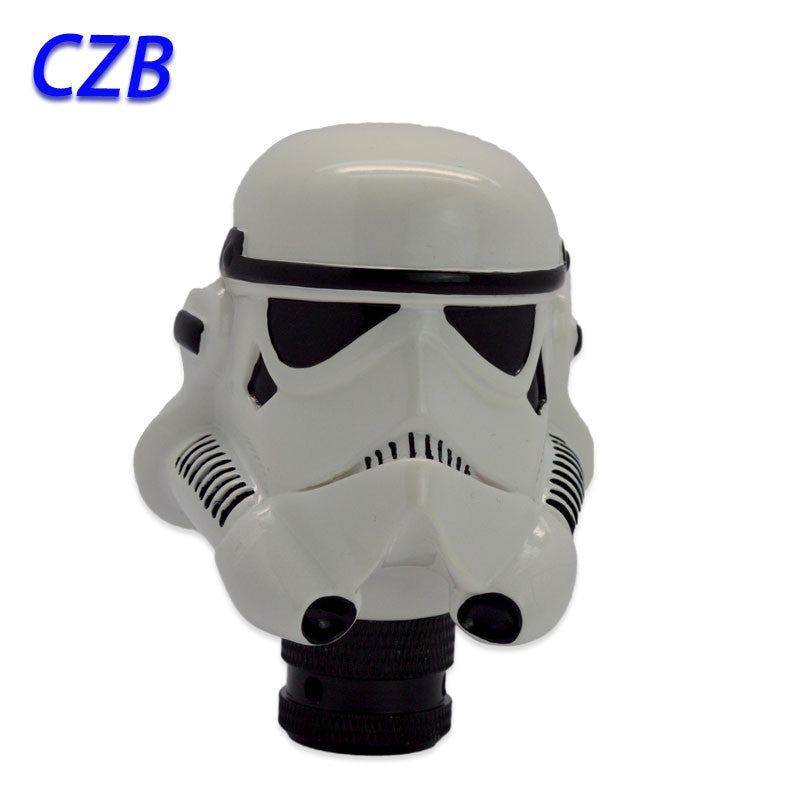Universal White Trooper Shift Knob - Storm Inspired