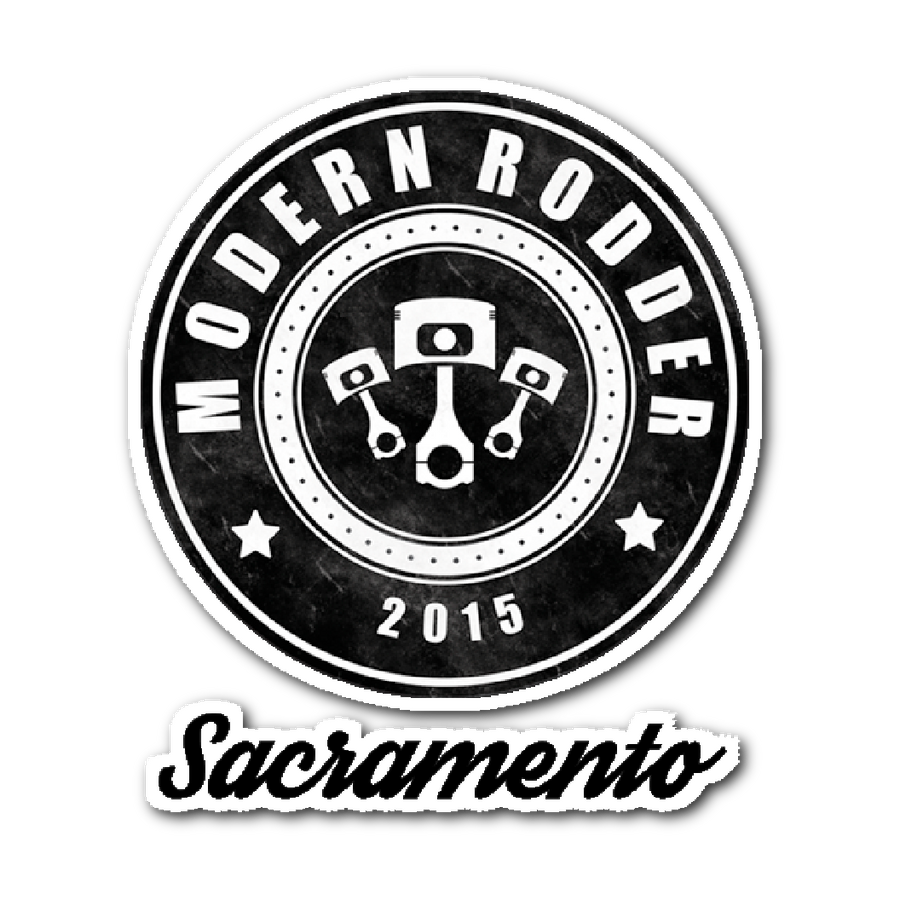 Modern Rodder - Removable Sticker