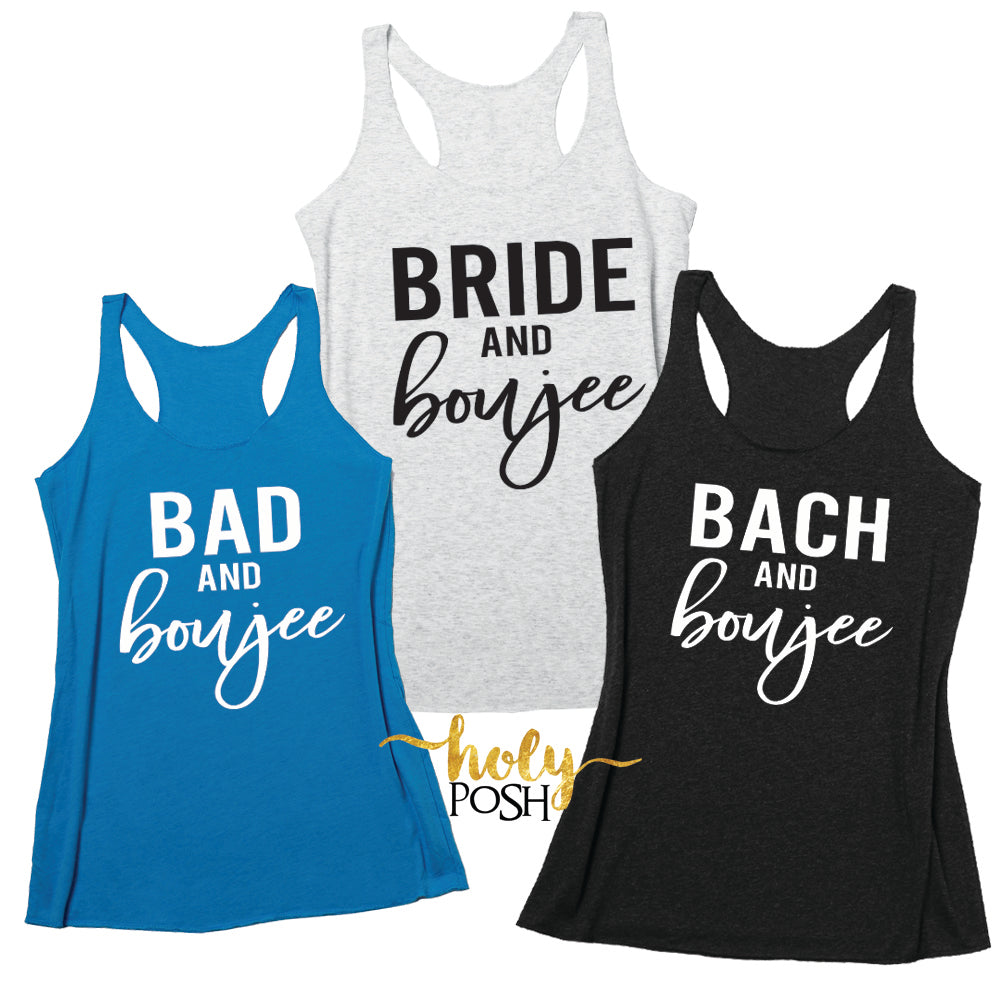 Bad And Boujee Bachelorette Party Shirts