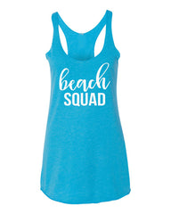 Beach Squad Tank Top- Bride's Squad Shirt- Bride Tribe Tank Top- Bridal Party Shirt- Bachelorette Party- Bridesmaid Tank- Wedding Tank Tops- Bridal Shirts- Beach Wedding- Summer Tank