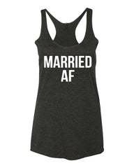Married AF Tank Top- Bride To Be Shirt- Honeymoon Shirt- Bride Gift- Bachelorette Party- Bride Tank- Brunch Tank- Bridesmaid Tank- Wedding Tank Tops. Bridal Shirts-
