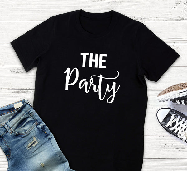 The Party Shirts- Wife of the Party- Unisex- Girls Night- Bridesmaid Shirts- Bridal Party Shirt- Bachelorette Party Shirts- Bridesmaids Tank- Bride